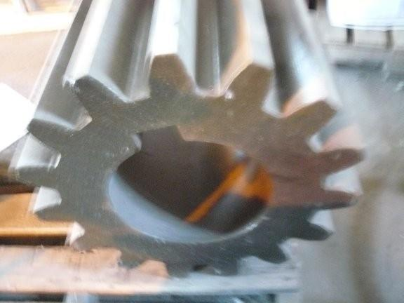 Spare 15-Tooth Pinion Gear for ball mill