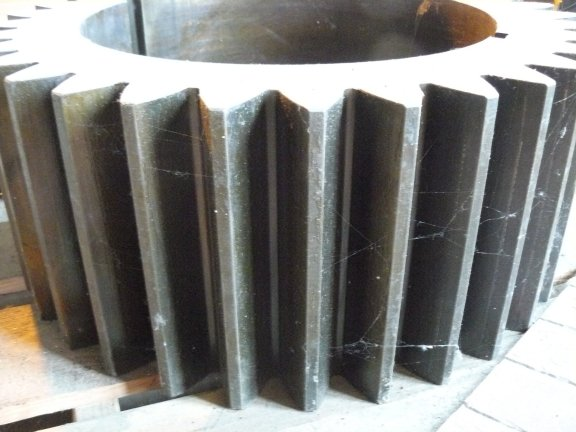 Spare 33-tooth Pinion Gear For Ball Mill