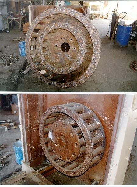 """Eagle 46"""" 4-row Cage Mill/rock Crusher"""