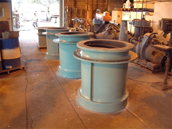 3 Units - UNUSED Trunnion Liners for ball mill