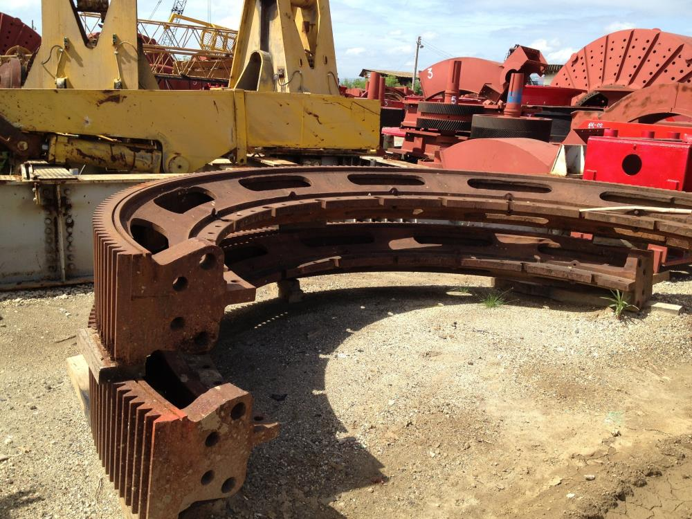 Spare Bull Gear previously use on kOBE-ALLIS CHALMERS 10' x 30' Regrind Ball Mill