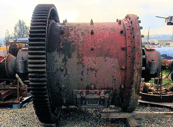 EIMCO 5' x 5' Ball Mill with 30 HP motor