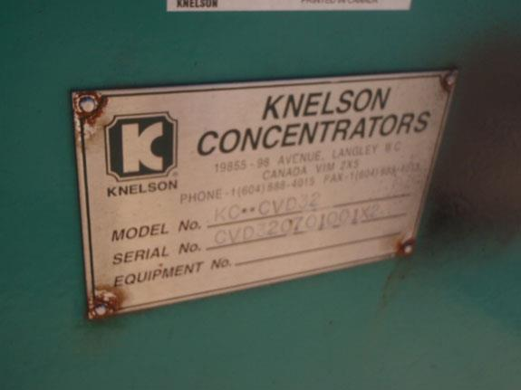 Knelson Model Kc Cvd32 Concentrator With 40 Hp Motor