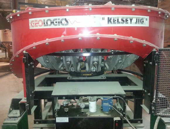 Unused Geologics Pty Ltd. Kelsey Model J1300 Mineral Jig