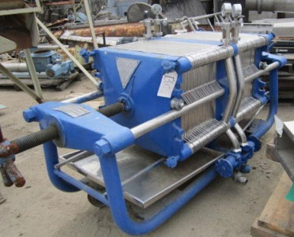 JOHN C. CARLSON LTD Plate & Frame Filter Press with 36 SS Plates