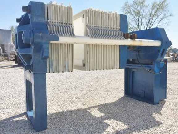 Sperry Size 30 Plate & Frame Filter Press, 136 Sq. Ft.