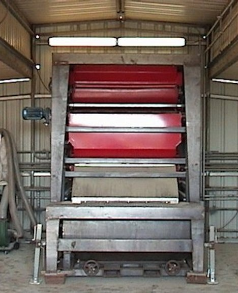 2 Units - Eriez Rare Earth Roll Magnetic Separators, Model Re-60-2, Double Roll With Mobile Operating Stand