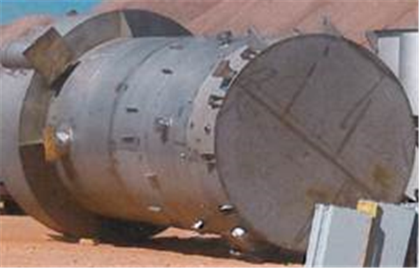 Unused Cpt (canadian Process Technologies) Potash Fines Ss Cleaner Column Cell, 10' Dia X 28' H.