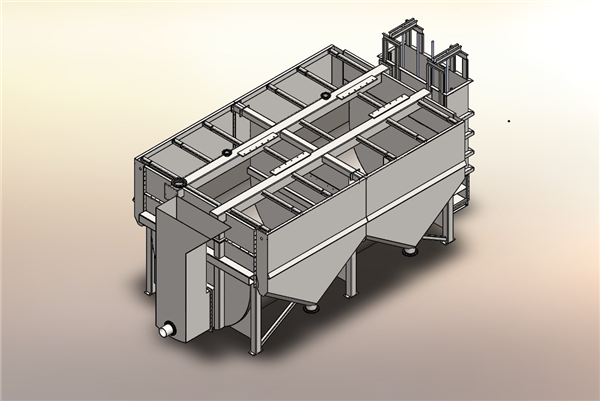 Fabricated Tank for OK-38 Flotation Cells