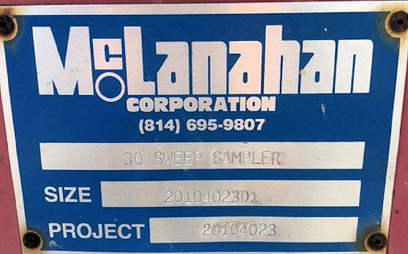 "Mclanahan 30"" Sweep Sampler, 7'6"" L X 5'5"" W"