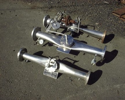 """2 Units - WITTEMANN Carbonation Valves, (1) 4"""" and (1) 3"""""""