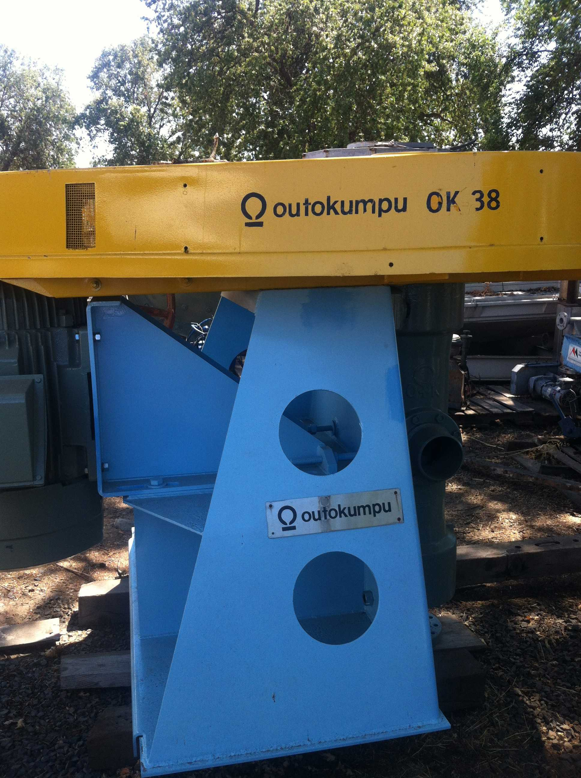 12 Units  - OUTOKUMPU Type OK-38 2-U Flotation Cell Mechanisms with 60 kw (80 HP) motors