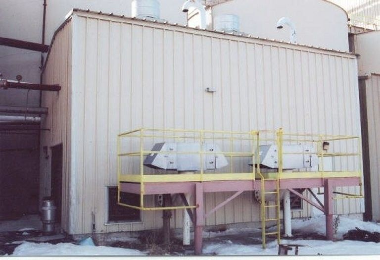 Inco So2/air Process Cyanide Destruction Plant With Air Compressor And Switchgear