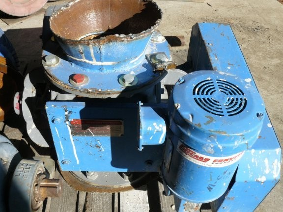"CHICAGO Model 9494 8"" Rotary Valve with 1/2 HP Reliance Motor"