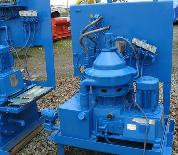 4 Units - Alfa Laval, Model Mmpx 304sgp-1160 Centrifuges, Each With 4 Hp Abb Motor