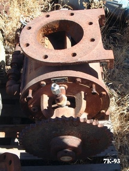 """Beaumont Bench Rotary Valve, R-1966, 8"""" Outlet And Inlet; No Motor"""