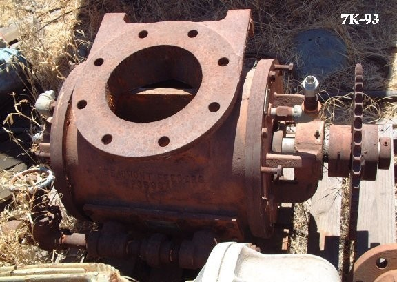 "BEAUMONT BENCH Rotary Valve, R-1966, 8"" outlet and inlet; no motor"
