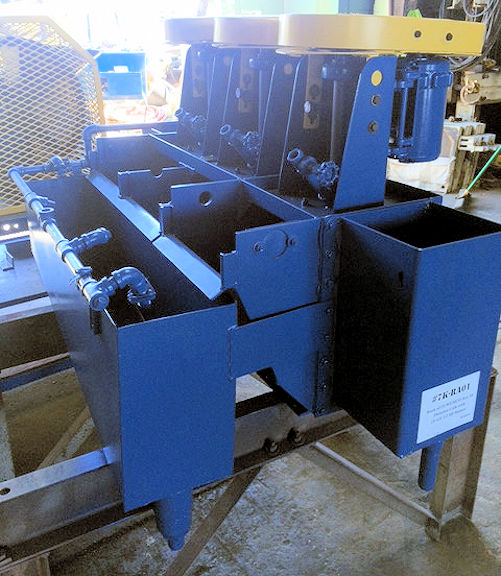 1 Unit/Bank of (3) WEMCO Size 18 Flotation Cells with (3) GE 1/2 HP Motors