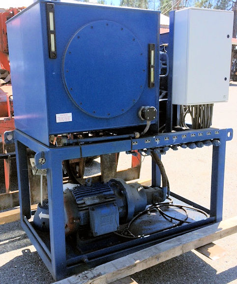 Unused Delkor 1500mm X 1500mm Filter Press With Hydraulic Power Pack