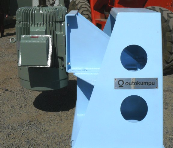 8 Units - Outokumpu Type Ok-38 Flotation Cell Mechanisms, Each With 100 Hp, 60 Hz Motor, Refurbished