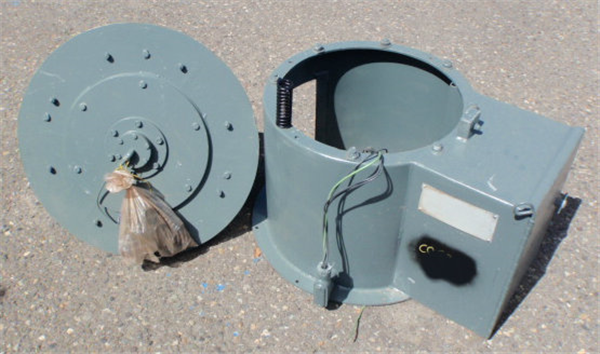 "Midwestern 24"" Vibrating Rotary Screen With 1/2 Hp Motor"