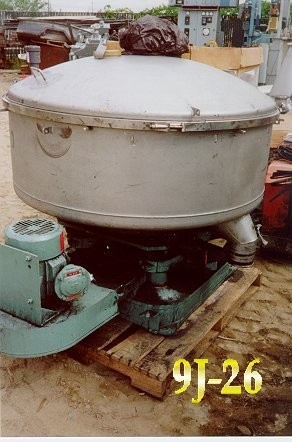 "Gump Bar-nun Cp-43 Pneumatic In-line Screener, 47"" Dia., 2 Hp, Rotary Pressure Sifter"