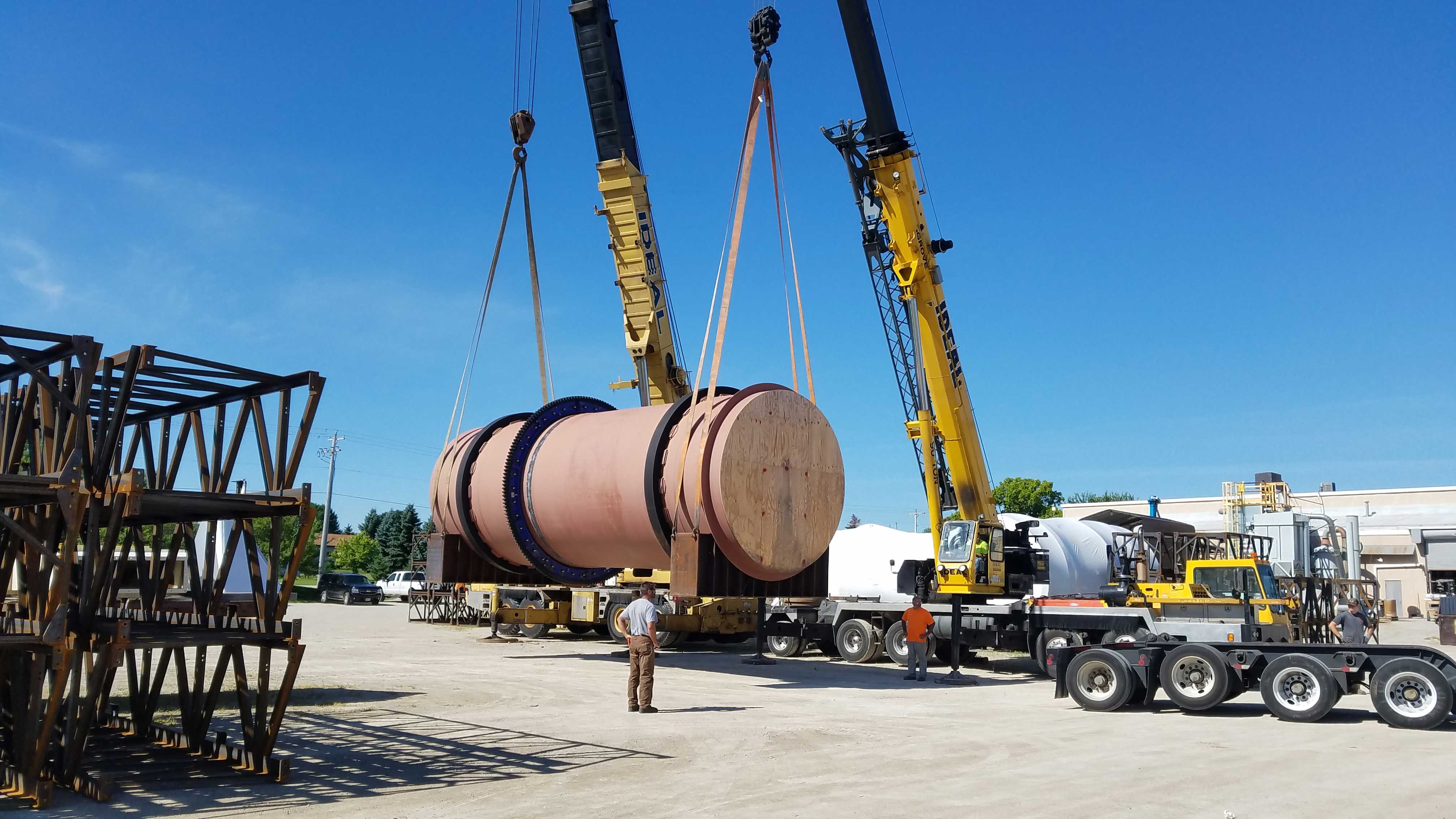 AM KING SELLS UNUSED METSO 2800 HP BALL MILL FOR PROJECT IN SOUTH AMERICA